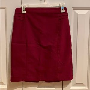 Burgundy Express skirt